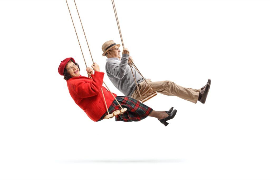 Senioren - Spaß - Schaukel - Denk.Merk.Statt - Gedächtnistraining