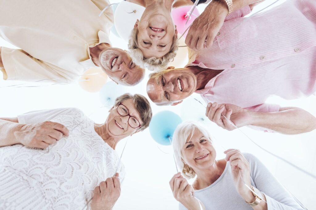 Ältere Menschen haben Spaß - Denk.Merk.Statt - Gedächtnistraining